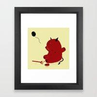 Evool Baby Framed Art Print