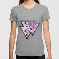 Untitled. Womens Fitted Tee Tri-Grey SMALL