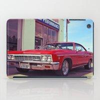 Impala red iPad Case