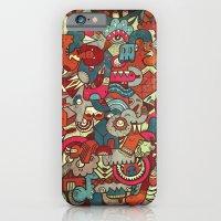 iPhone & iPod Case featuring Lovebirds by uberkraaft