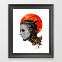 Just A Ghost In The Shel… Framed Art Print