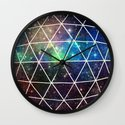 Space Geodesic Wall Clock