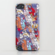 Space Toons In Color iPod touch Slim Case