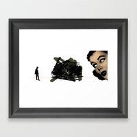 They Had Both Seen The F… Framed Art Print