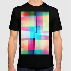 constructs #2 (35mm multiple exposure) Mens Fitted Tee Black SMALL
