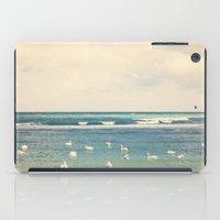 Swan Sea iPad Case