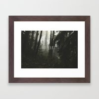 Portland  Framed Art Print