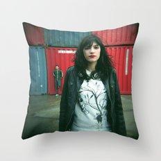 Marina y Carlos Throw Pillow