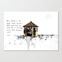 Mel Gibson Is In Your Sh… Canvas Print
