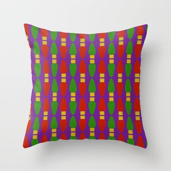 Bulb Wave Royal Throw Pillow