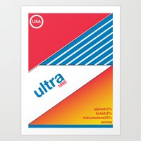 Art Print featuring ultra//single hop by committee on opprobriations