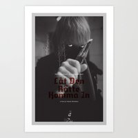 Let The Right One In Mov… Art Print