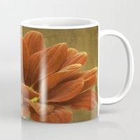 Vintage Chrysanthemum Mug