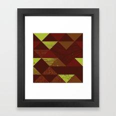 Dimensional Wood Framed Art Print