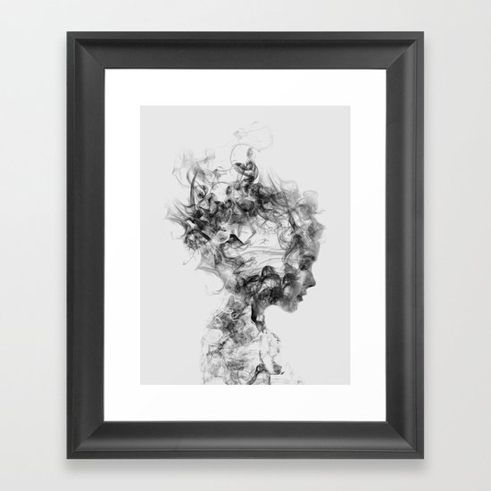 Dissolve Me Framed Art Print By D 225 Niel Taylor Society6