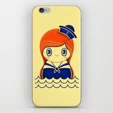 Navy serie 01 iPhone & iPod Skin