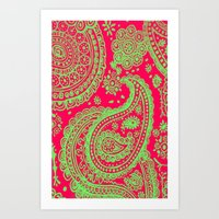 Paisley 4 Art Print