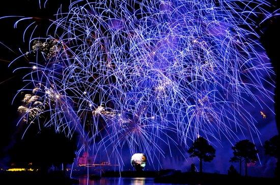 Illuminations Fireworks Art Print