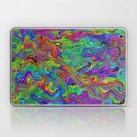 Atomic Rainbow Splash Laptop & iPad Skin