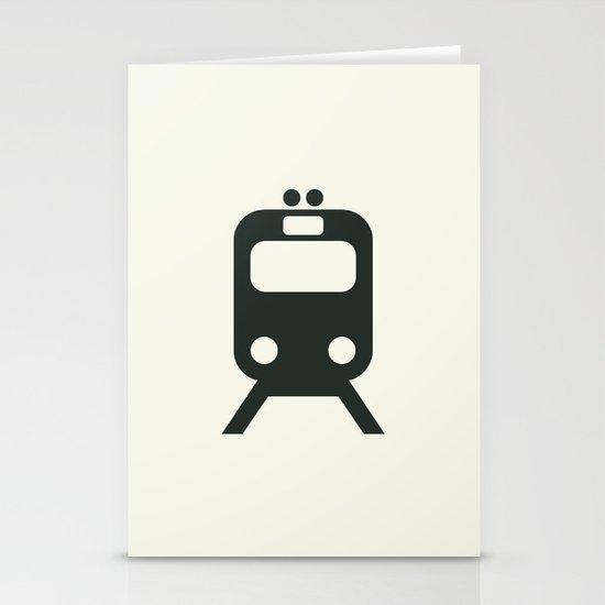 Train Stationery Card