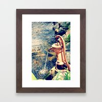 waterfountain2 Framed Art Print