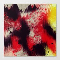 Pops Of Fury Canvas Print