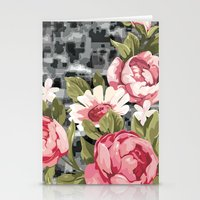 flowwwer pattern Stationery Cards