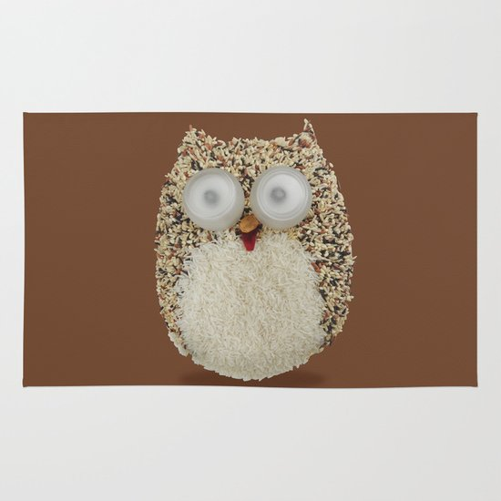 Specs, The Grainy Owl! Area & Throw Rug