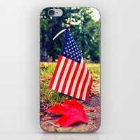 American Autumn iPhone & iPod Skin