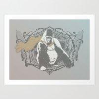 Fearless Creature: Grillz Art Print