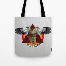 Wonder Wood Dream Mountains - The Demon Cleaner Series · Flying Marie Tote Bag