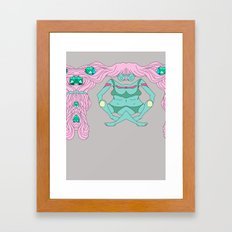 ics Framed Art Print