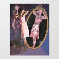 Astral Double Canvas Print