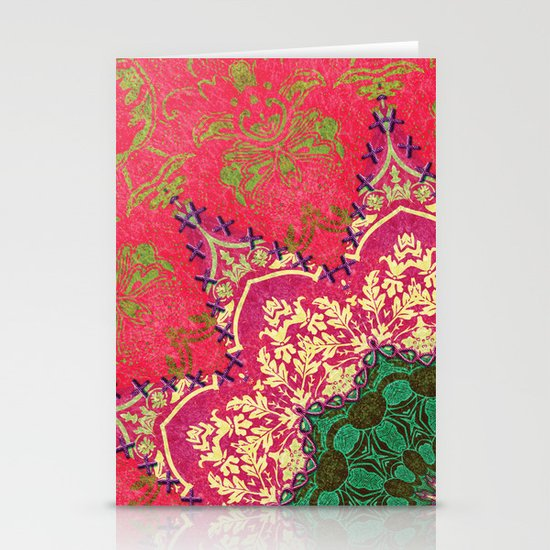 Royal Mandala 1 Stationery Card