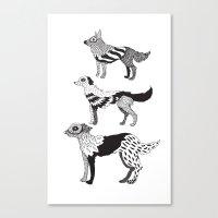 Andersen Dogs Canvas Print
