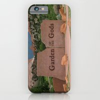 iPhone & iPod Case featuring Garden of the Gods - Colorado by Elizabeth Tompkins
