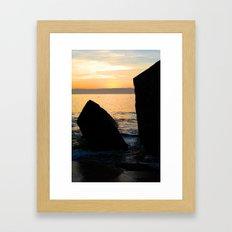 Split Rock  Framed Art Print