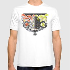 Nalubuff - the Fighters White Mens Fitted Tee SMALL
