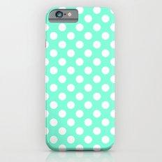 Tiffany Polka Dot Patter… iPhone 6 Slim Case