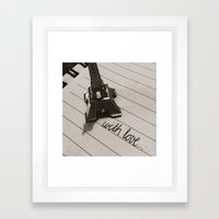from paris... Framed Art Print