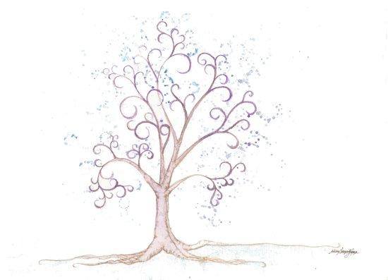 elven tree Art Print