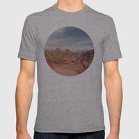 Cafayate Tree Mens Fitted Tee Athletic Grey SMALL