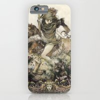 iPhone & iPod Case featuring Rat Queen by Jeremy hush