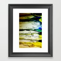 Paint Abstract Framed Art Print