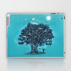 Deep Tree Diving  Laptop & iPad Skin