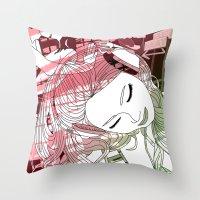 Beat Throw Pillow