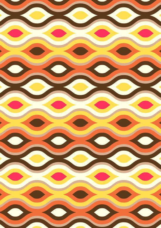 Back To The 70s Art Print