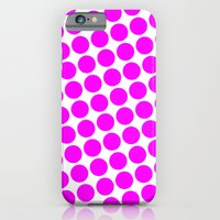 iPhone & iPod Case featuring BIG PINK DOT by Mr.DOT
