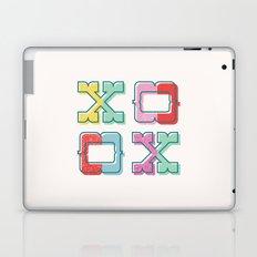 Color-Blocked XOXO Laptop & iPad Skin