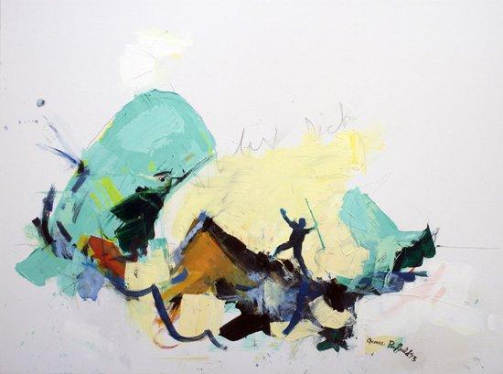 """""""The Whale,"""" 40 x 30,"""" 2013. Art Print"""